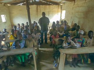 School lessons in Massarankissidou 3